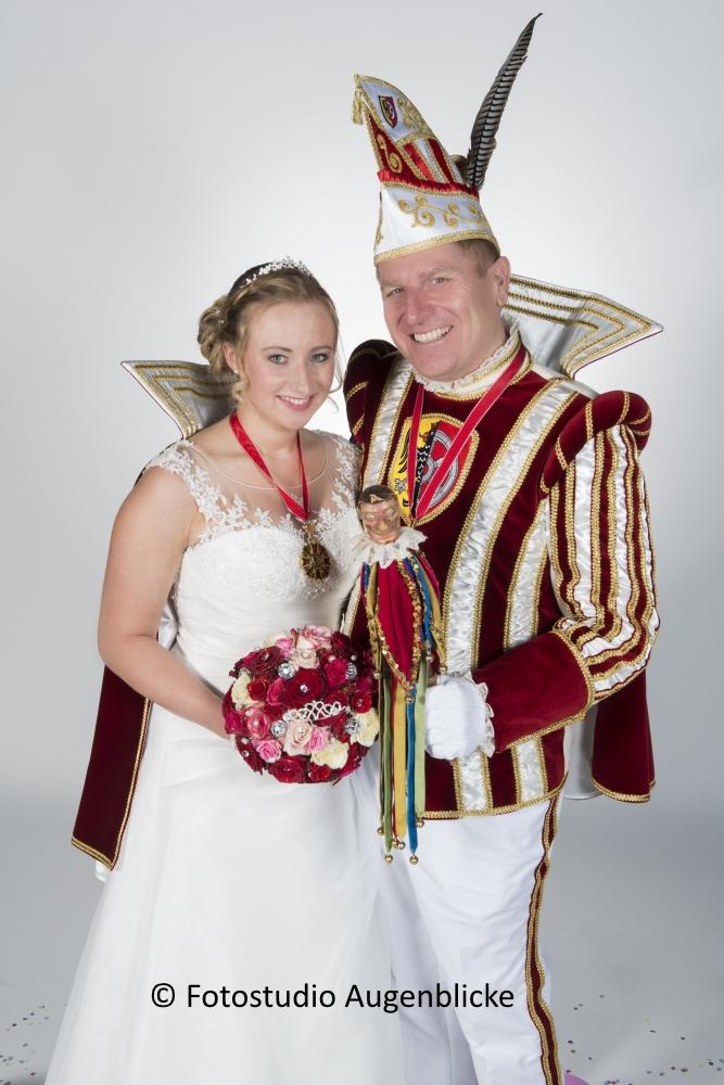 Prinz Gerald und Prinzessin Tina